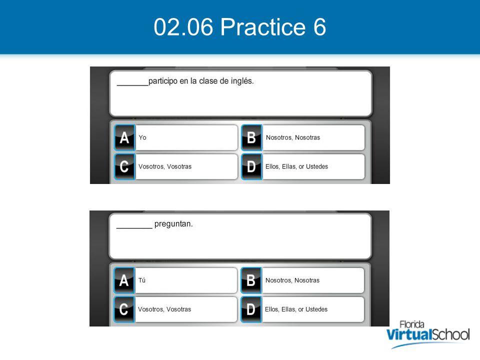 02.06 Practice 6