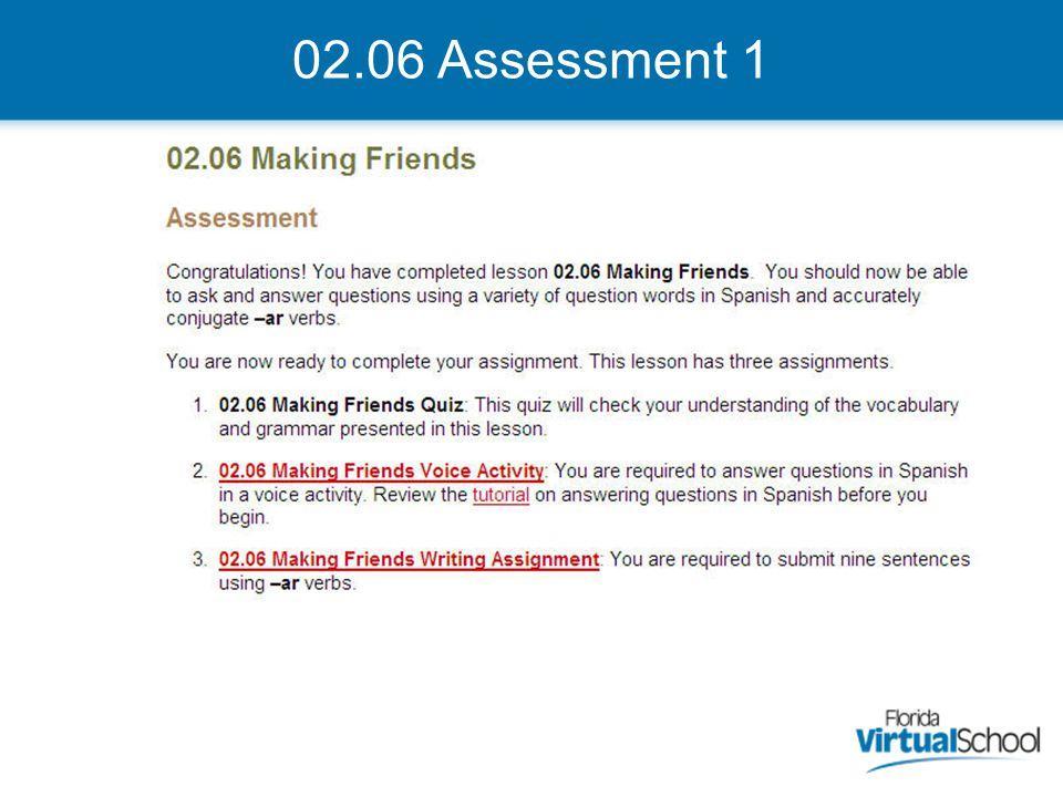 02.06 Assessment 1