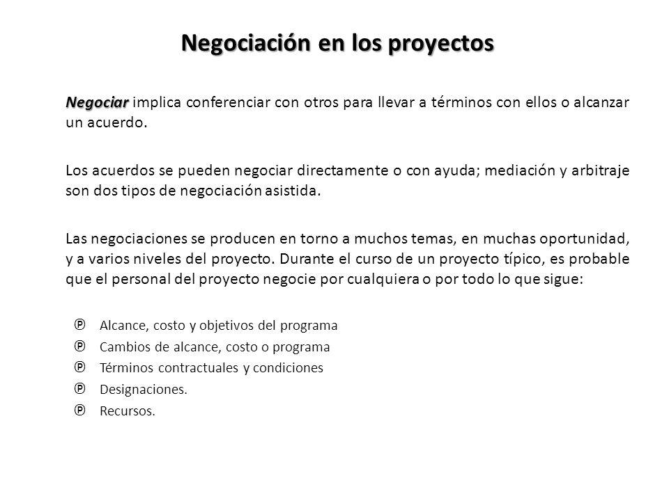 Negociar Negociar implica conferenciar con otros para llevar a términos con ellos o alcanzar un acuerdo.
