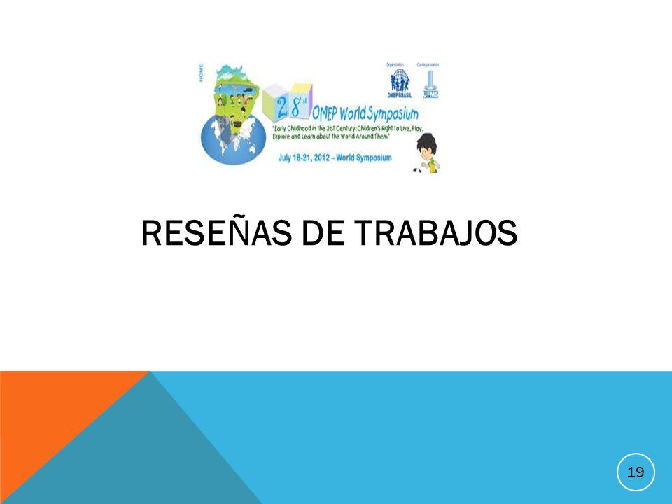 19 S RESEÑAS DE TRABAJOS
