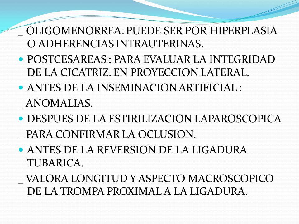 DESPUES DE LA CIRUGIA TUBARICA RECONSTRUCTIVA.