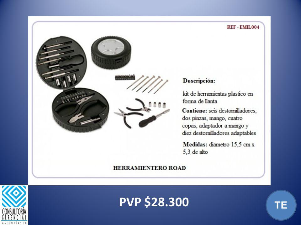 PVP $28.300 TE