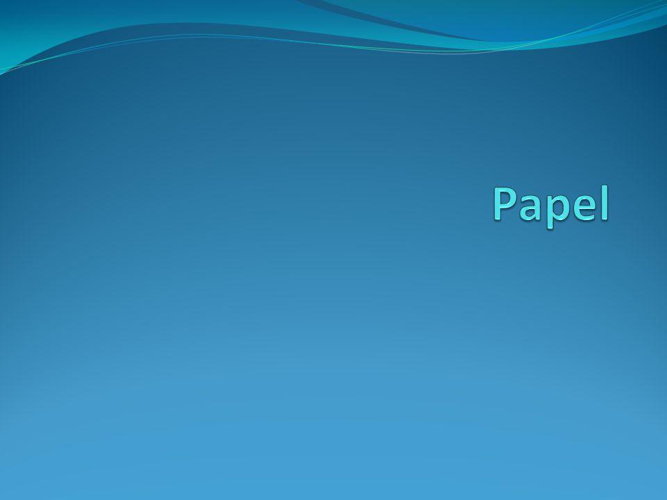 El papel está compuesto básicamente por Celulosa más cargas minerales.