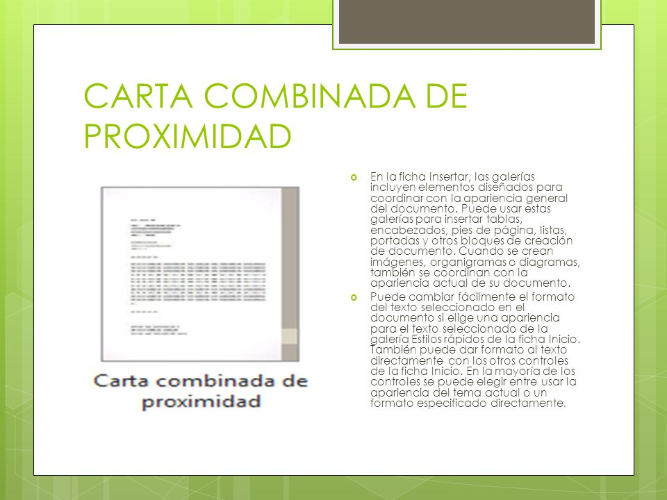 CARTA COMBINADA INTERMEDIA Si es así: una carta combinada es un documento base (carta) que vas a enviar a varios destinatarios, que tienes en una base de datos (MS Access, fichero de texto u otros).