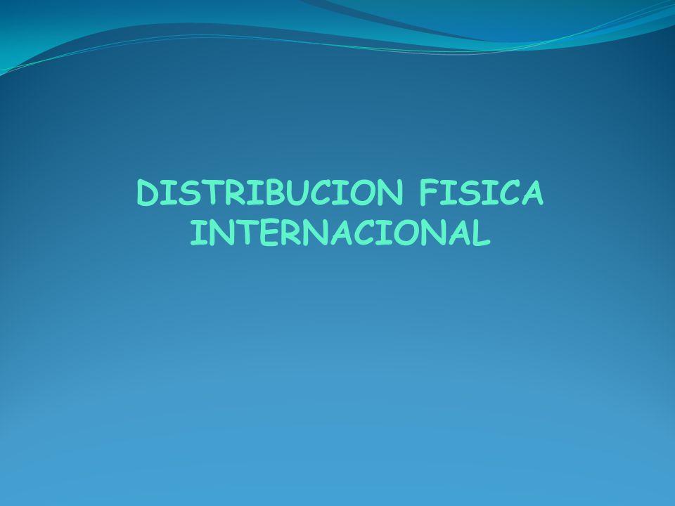 La Distribución Física Internacional, conocida por sus siglas DFI, es el proceso logístico que se desarrolla en torno a situar un producto en el mercado internacional cumpliendo con los términos negociados entre el vendedor y el comprador.