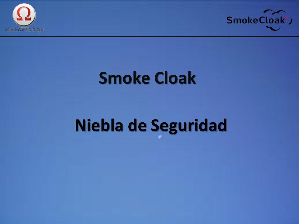 Smoke Cloak: Historia: SmokeCloak SmokeCloak es pionero en fabricación de generadores de neblina de seguridad.
