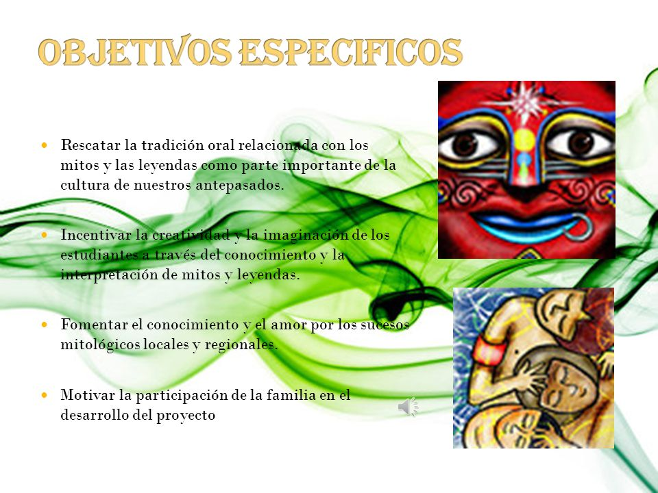 Producir textos escritos para leer, contar, interpretar y aplicar experiencias a partir de conocimientos basados en Mitos y Leyendas Colombianas incen