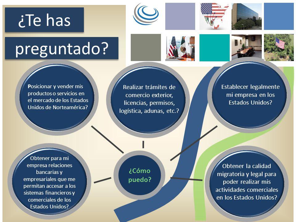 ¿Te has preguntado? ¿Cómo puedo? Posicionar y vender mis productos o servicios en el mercado de los Estados Unidos de Norteamérica? Obtener para mi em