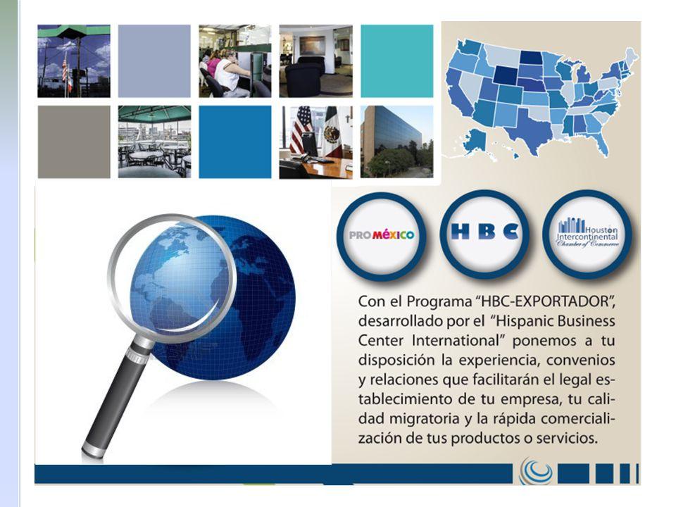 Los primeros pasos son los siguientes 1.Contacto inicial entre HBC International y la empresa mexicana Una vez que se le ha presentado y explicado a la empresa el paquete HBC Exportador, se procede a llenar el contrato del HBC KIT Exportador.