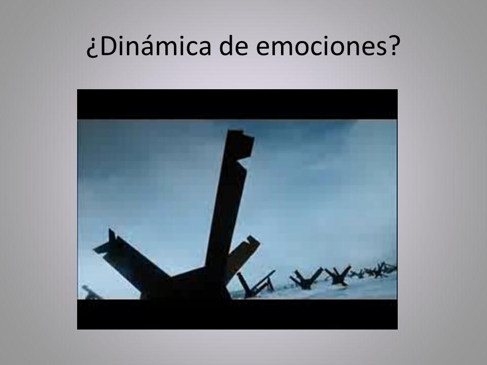 ¿Dinámica de emociones?