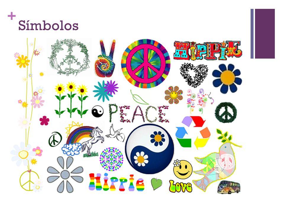 + Música Cantantes como Janis Joplin, Jimmy Hendrix, bandas como Love, The Doors y Pink Floyd son algunos de los representantes del movimiento hippie en la música.
