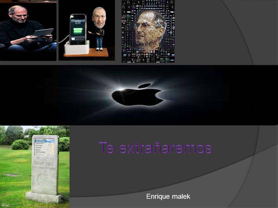 Steve Jobs falleció el 5 de octubre de 2011 a los 56 años por cáncer de páncreas. La noticia fue publicada y confirmada en el sitio web oficial de App