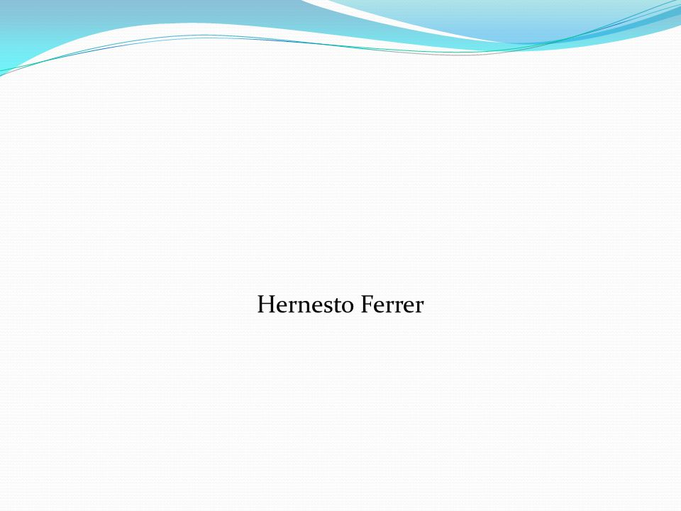 Hernesto Ferrer