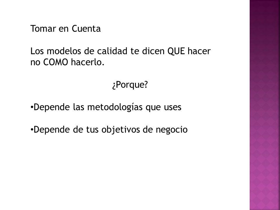 Cuantos modelos existen.CMMI v.