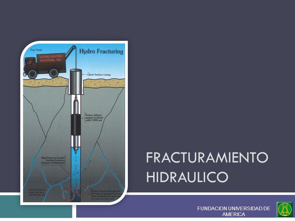 Bajo esta condición y para el caso particular donde la fractura hidráulica es generada por tensión, la orientación de la fractura estará en dirección perpendicular a la menos tensión.