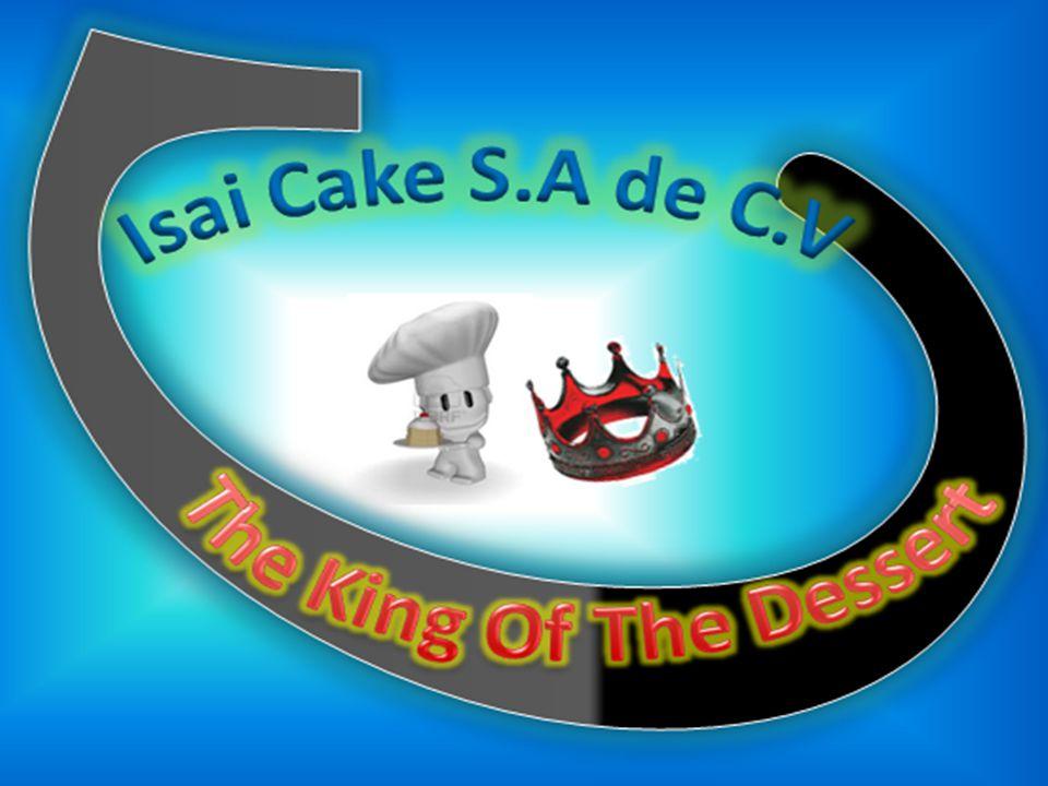 Isai Cakes inicia sus operaciones en Diciembre de 2011 Bajo el Nombre de Isai Cakes S,A de C,V Cuyo Giro Principal es La Producción y Comercialización de Cakes, y esta ubicada en la 1ra Calle Poniente y 75 Av.