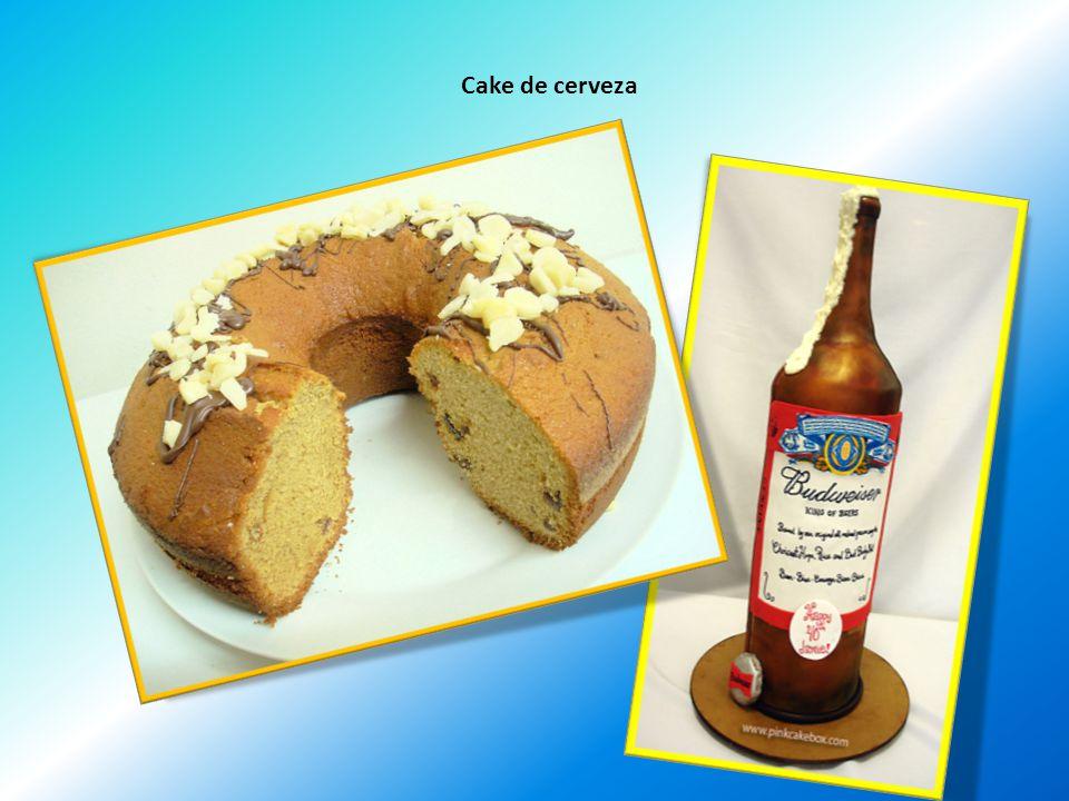 Cake de cerveza