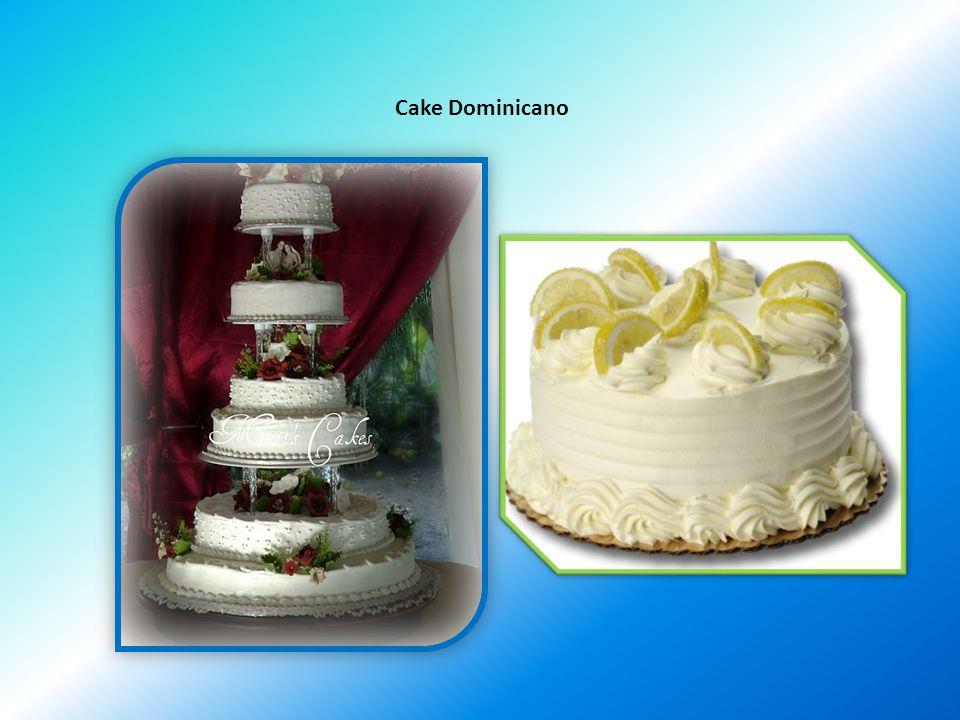 Cake Dominicano