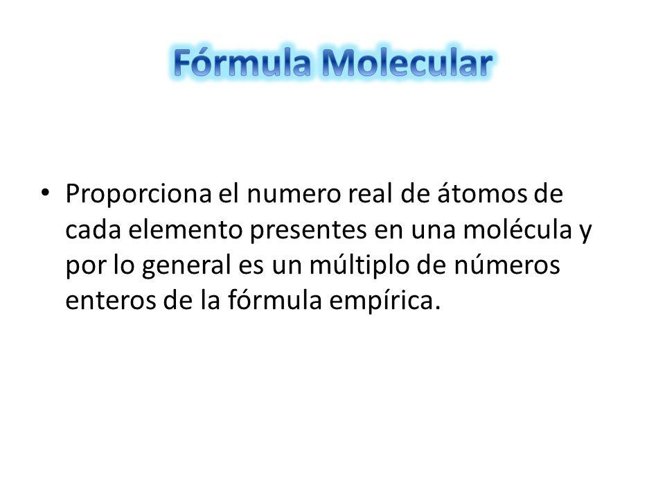 Paso 1: se calcula la masa molar del compuesto.