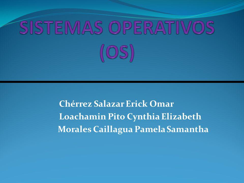 Chérrez Salazar Erick Omar Loachamin Pito Cynthia Elizabeth Morales Caillagua Pamela Samantha