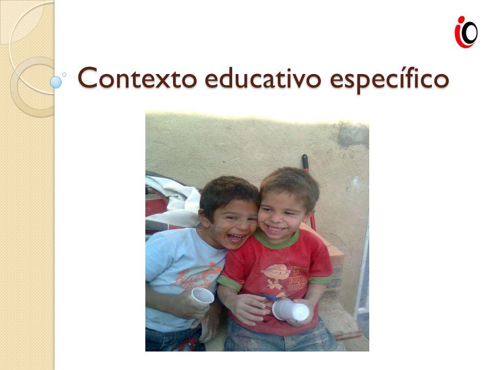 Contexto educativo específico