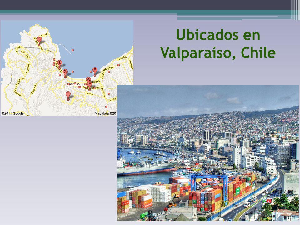 Ubicados en Valparaíso, Chile