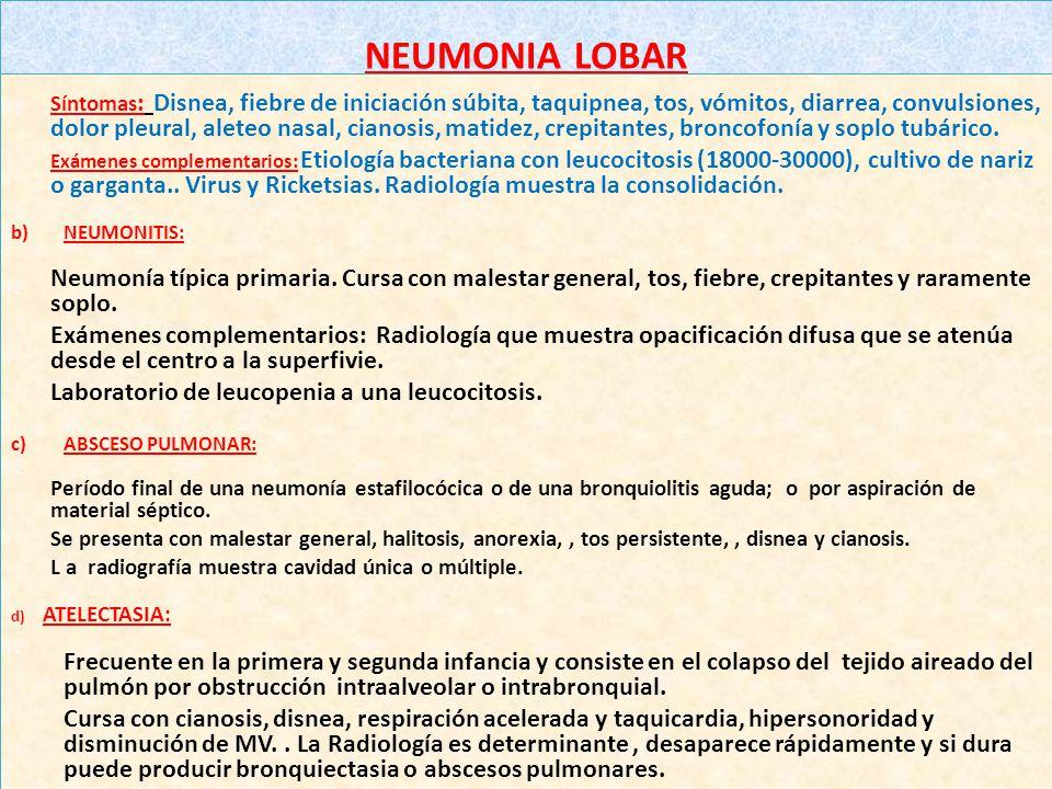 BRONQUIECTASIA: Padecimiento crónico y progresivo, caracterizado por presencia de cavidades infectadas, constituidas por dilataciones saculares, tubul