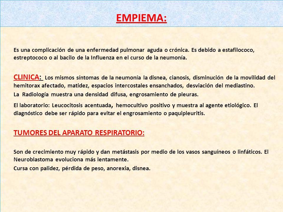 AFECCIONES PLEURALES: a)NEUMOTORAX: Puede ser consecuencia en espontánea, por la introducción de instrumentos en las vías respiratorias, o rotura espo