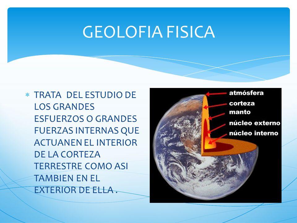 NOCIONES DE GEOLOGIA LA GEOLOGIA ES LA CIENCIA QUE TRATA SOBRE EL ESTUDIO DE LA TIERRA GEO=TIERRA LOGIA=ESTUDIO LA GEOLOGIA ES LA CIENCIA NATURAL QUE