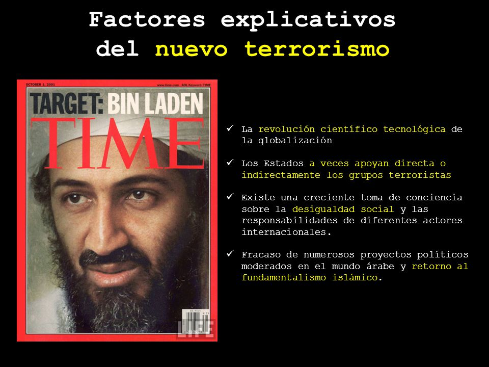 revolución científico tecnológica La revolución científico tecnológica de la globalización a veces apoyan directa o indirectamente los grupos terroris
