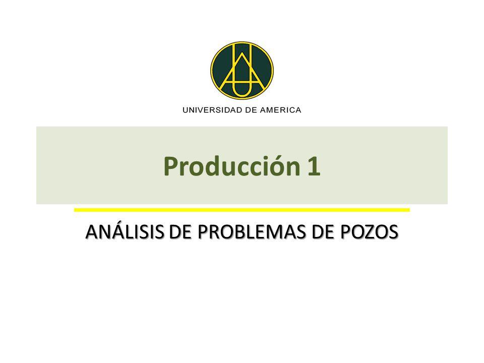 Producción 1 ANÁLISIS DE PROBLEMAS DE POZOS