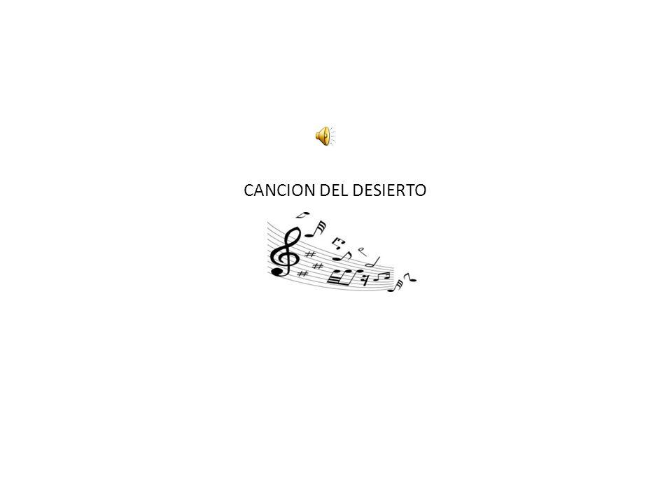 CANCION DEL DESIERTO