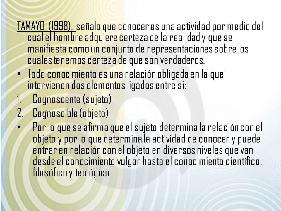 LOS OBSTACULOS DEL CONOCIMIENTO 1.OBSTACULOS EPISTEMOLOGICOS (Castañeda l99799).
