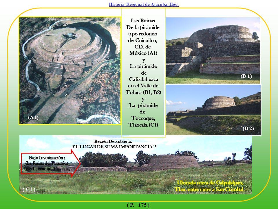 LA PIRAMIDE DE TEHOTEHUACAN, EDO. DE MÉXICO 1 43 2 Historia Regional de Ajacuba, Hgo. ( P. 176 )