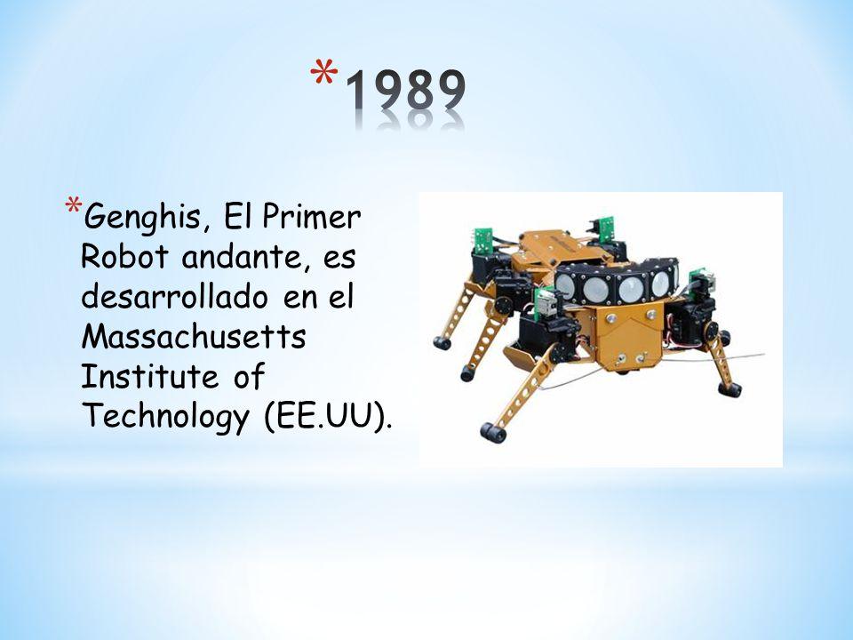 * El E1 es un prototipo que andaba en un paso estático a 0,25 Km/h con una cierta distinción entre el movimiento de las dos piernas.