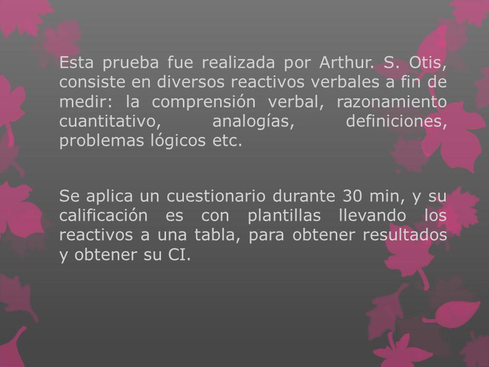 Esta prueba fue realizada por Arthur.S.
