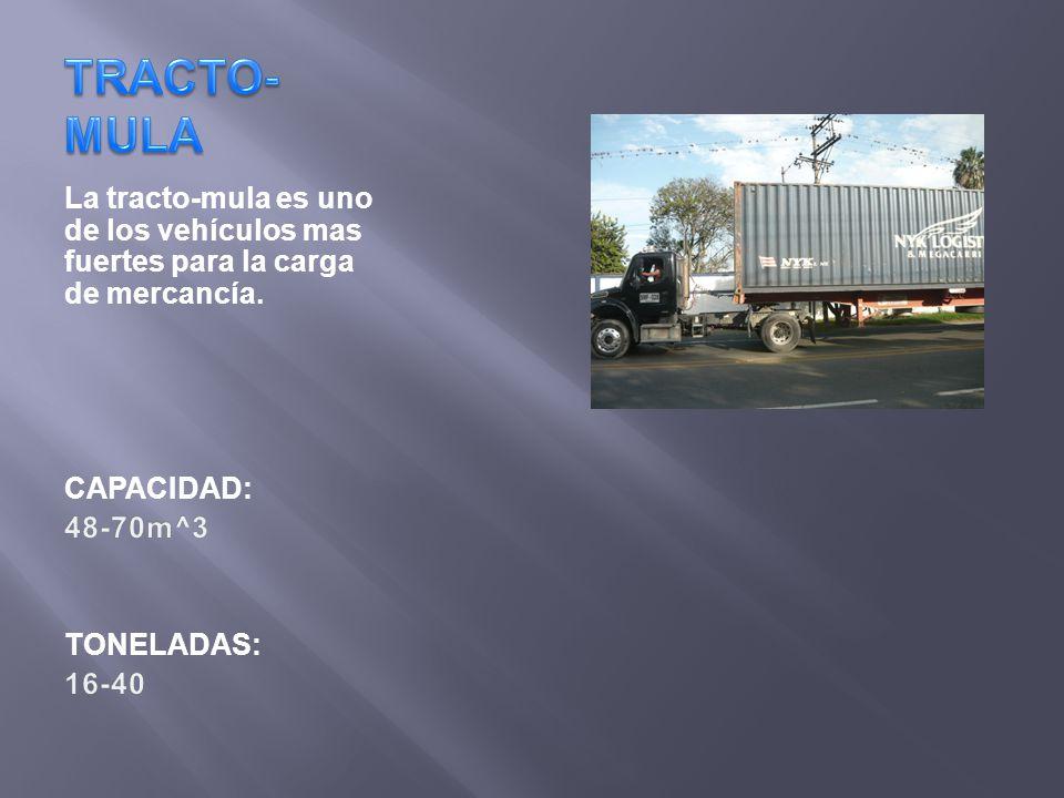 contenedores estándar mayoritariamente de 40 pies su característica principal es su sobre altura (9.6 pies).