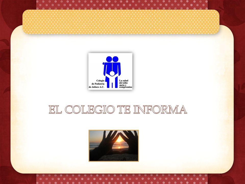 Sabías tu que… De acuerdo con la encuesta Nacional de Salud y Nutrición (ENSANUT) 2012, en Jalisco aproximadamente una tercera parte de los niños en edad escolar y de los adolescentes presenta exceso de peso.