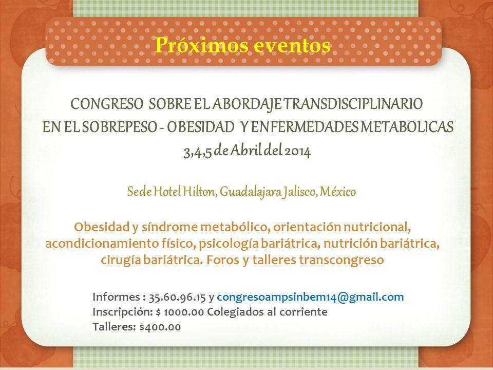 Sabías tu que… De acuerdo con la encuesta Nacional de Salud y Nutrición (ENSANUT) 2012, en Jalisco aproximadamente una tercera parte de los niños en e