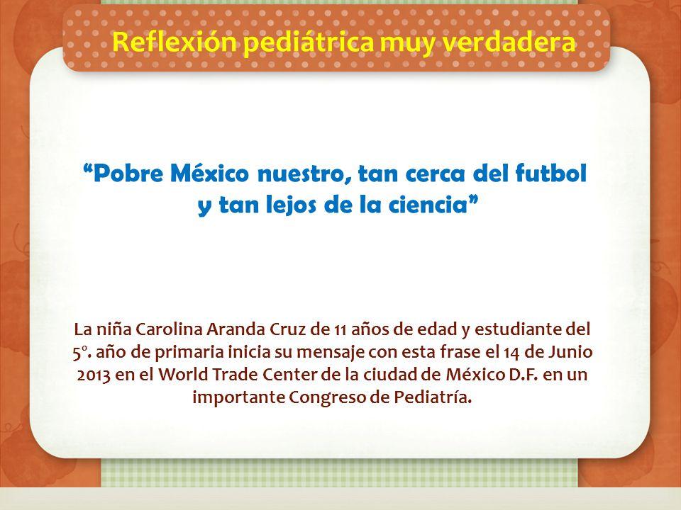 ESPEREN NUESTRA PROXIMA EDICION INFORMATIVA La niña Carolina Aranda Cruz de 11 años de edad y estudiante del 5º.