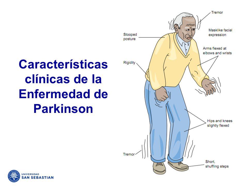 Características clínicas de la Enfermedad de Parkinson