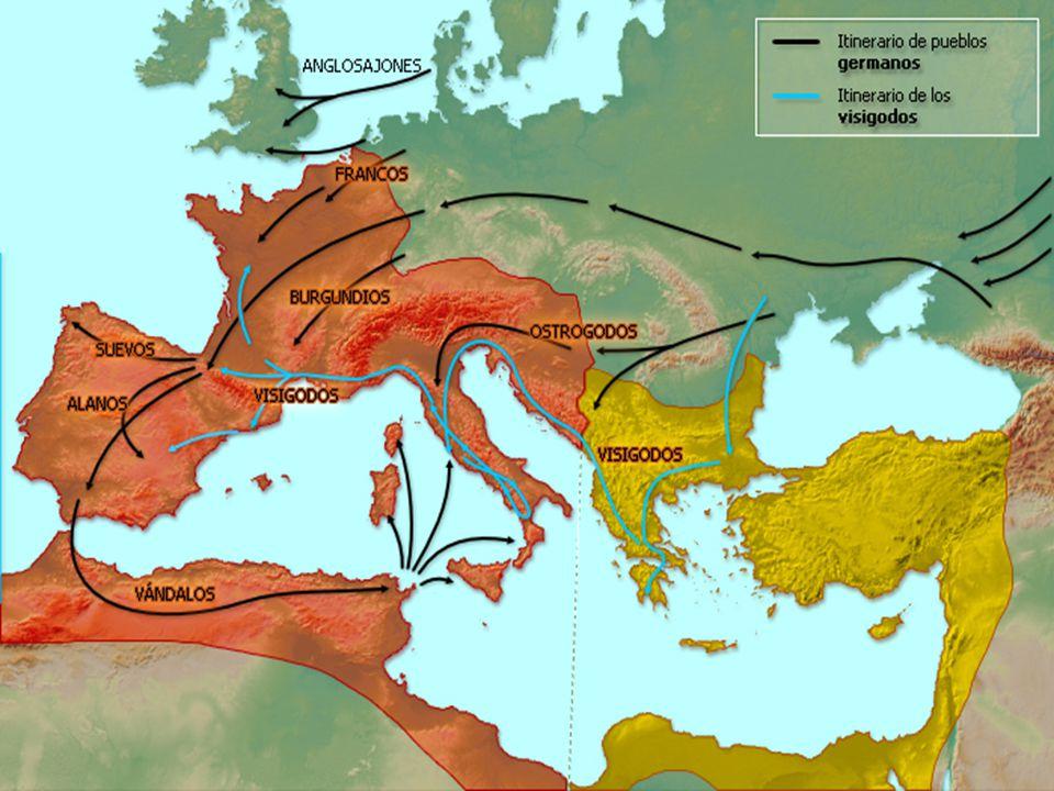 El reino visigodo e instituciones El reino visigodo fue el primer estado político independiente y unificado de la península.