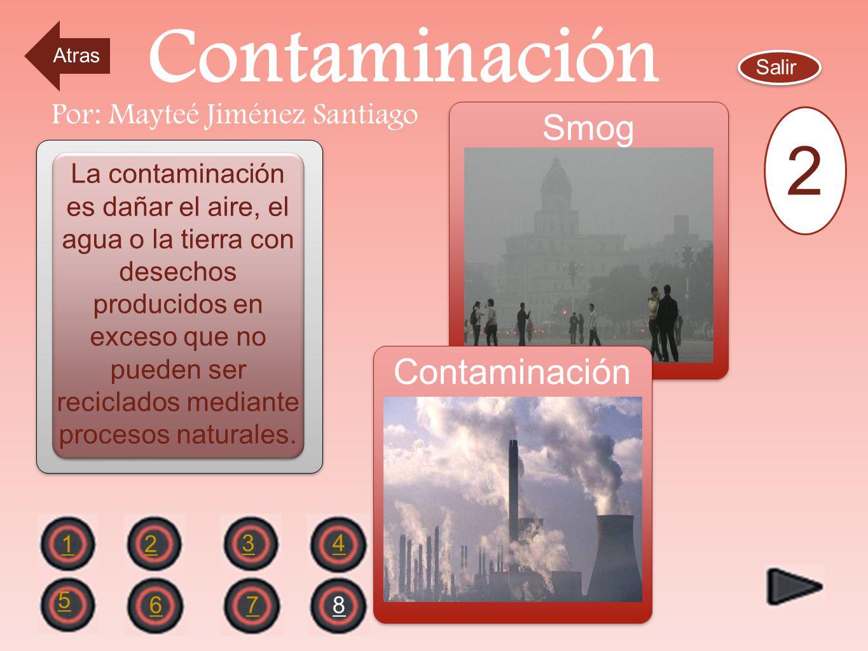 El Balance Natural OBJETIVOS Salir 2 1 43 6578 Por: Mayteé Jiménez Santiago Definir conceptos de contaminación, lluvia ácida, capa de ozono y efecto d