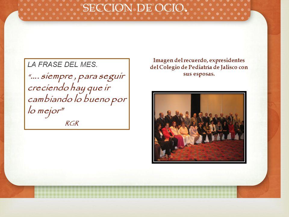 Estimados socios: les informamos que nuestras oficinas del Colegio de Pediatría de Jalisco están a sus órdenes en la calle de Andrés Terán No. 1283 Fr
