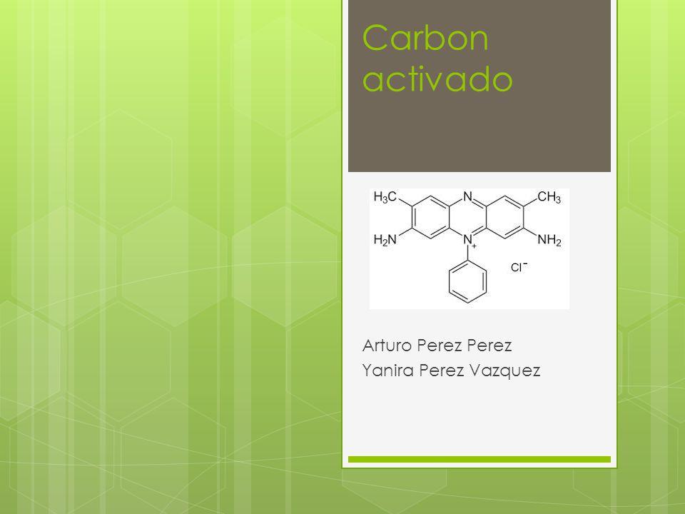 introducción El nombre de carbon activado se aplica a una serie de carbonos porosos preparados artificialmente, a través de un proceso de carbonización, para que exhiban un elevado grado de porosidad y una alta superficie interna.