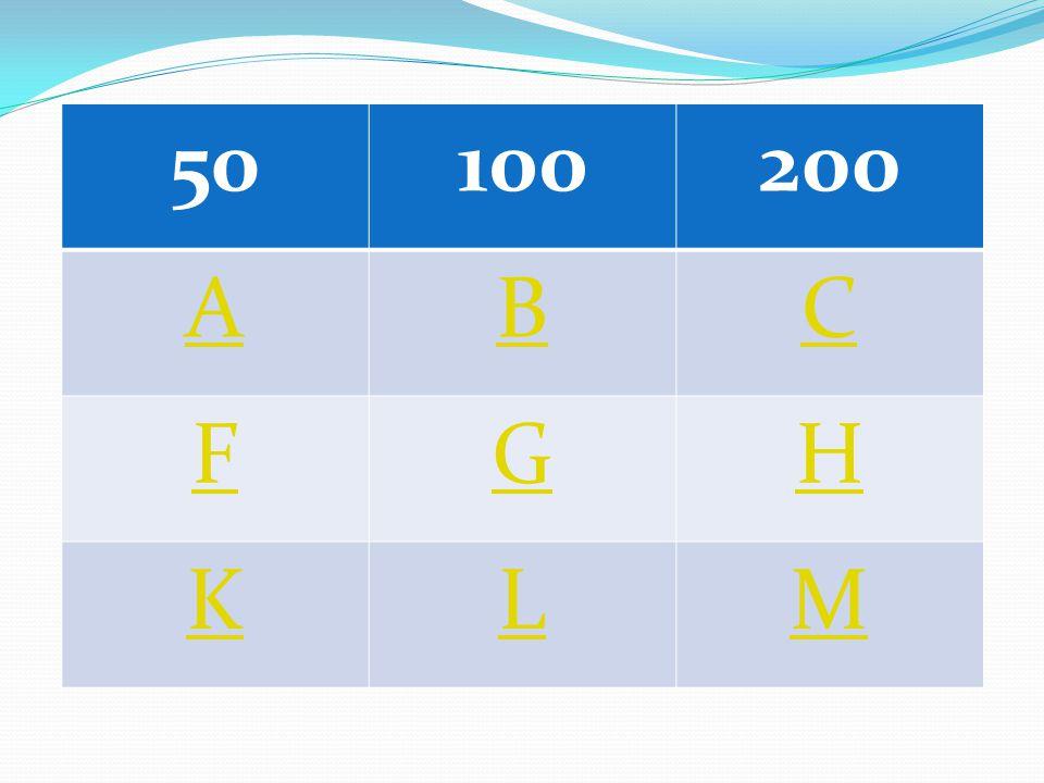 50100200 ABC FGH KLM