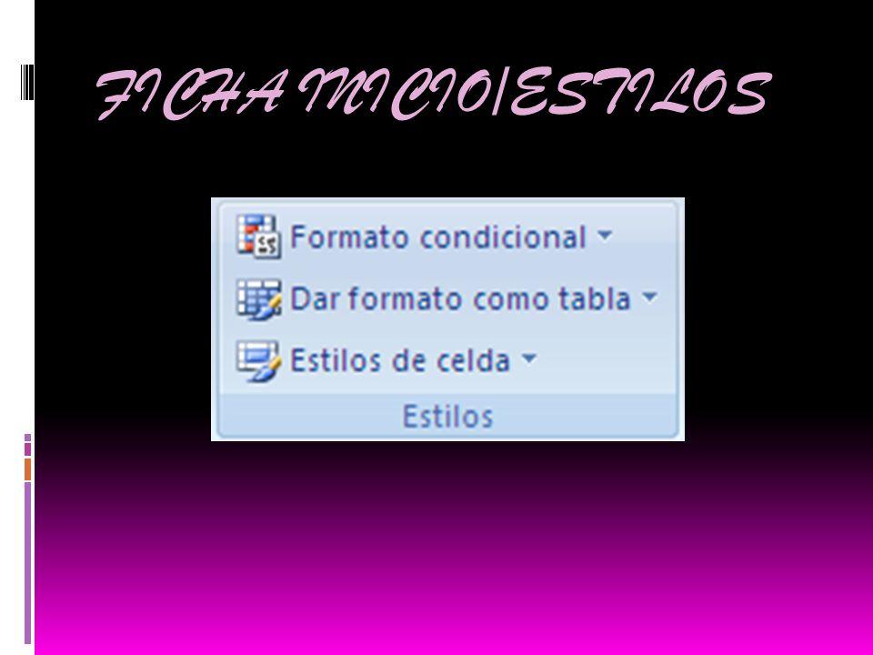 FICHA INICIO/ESTILOS