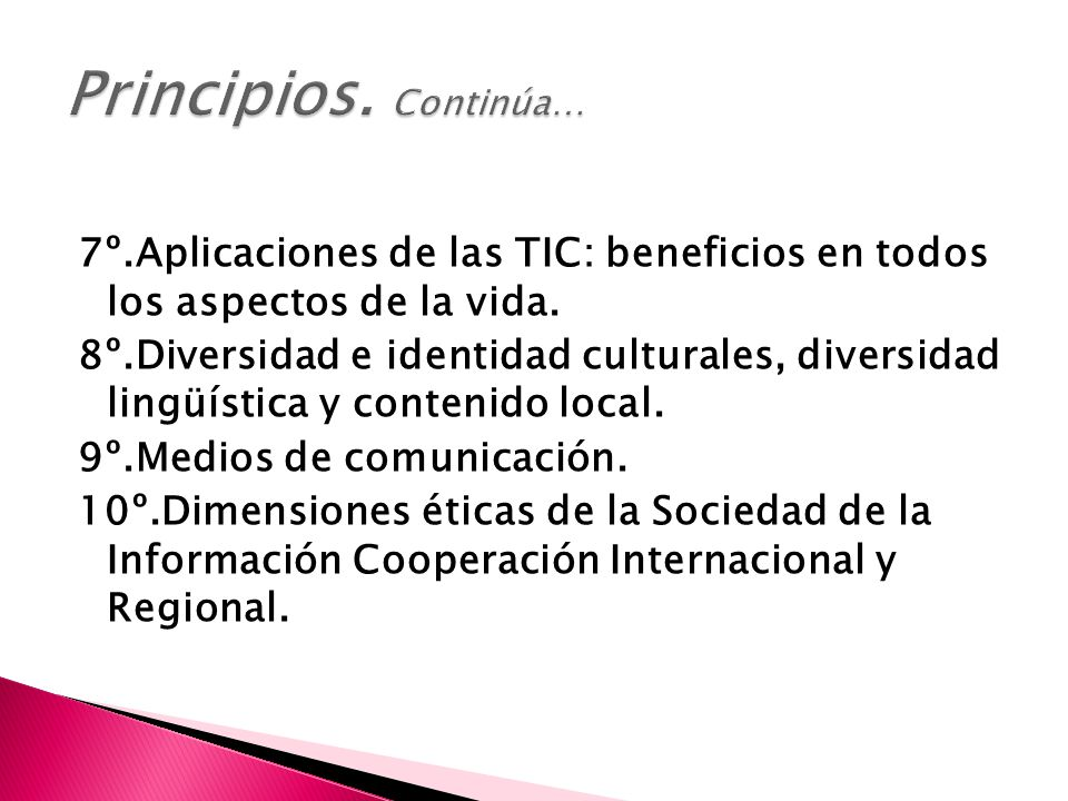 7º.Aplicaciones de las TIC: beneficios en todos los aspectos de la vida.