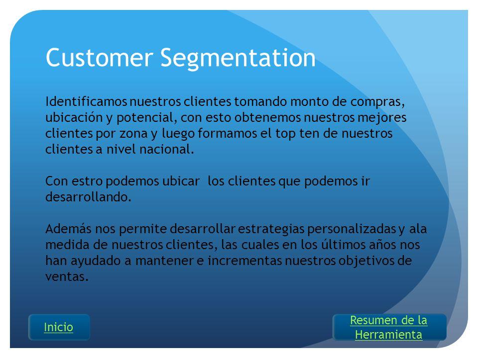 Customer Segmentation Identificamos nuestros clientes tomando monto de compras, ubicación y potencial, con esto obtenemos nuestros mejores clientes po