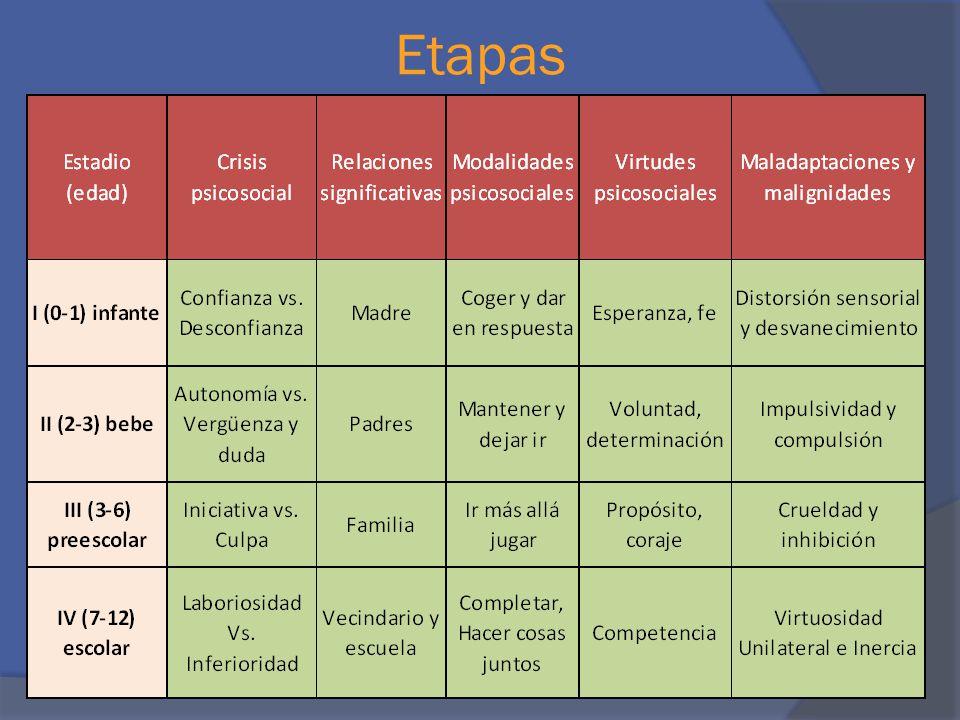 Etapas